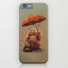 Bear with ambrella iPhone 6 Slim Case