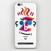 Type Faces No.2: David B… iPhone & iPod Skin