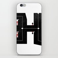 The Letter H iPhone & iPod Skin
