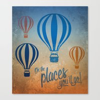 Oh, The Places You'll Go… Canvas Print