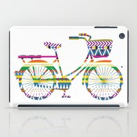 Bicycle with Tribal Pattern iPad Case