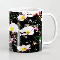 Pink Flowers (Edited)  Mug