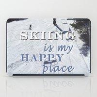 My Happy Place iPad Case