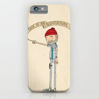 "quote iPhone & iPod Cases featuring ""THIS IS AN ADVENTURE."" - Zissou by Derek Eads"
