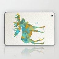 Colorful Moose Art Laptop & iPad Skin