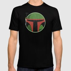 Star Wars VI: Return Of The Jedi SMALL Black Mens Fitted Tee