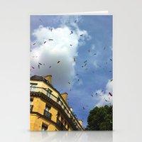 Paris Confetti Stationery Cards