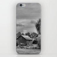 Down On The Farm Black A… iPhone & iPod Skin