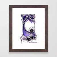 A Midsummer Night's Dream - Puck and Titania - Shakespeare Illustration Art Framed Art Print