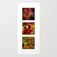 The Spirits Trilogy (With Ganech Joe) Art Print