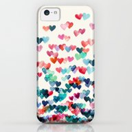 Heart Connections - Wate… iPhone 5c Slim Case