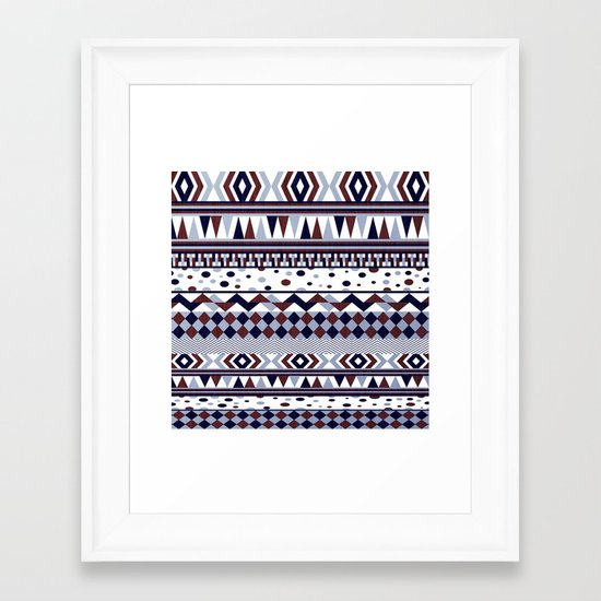 Tribal Vibe Framed Art Print