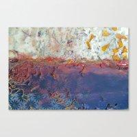 entropic floral dreams Canvas Print
