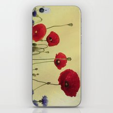 4 Poppys iPhone & iPod Skin