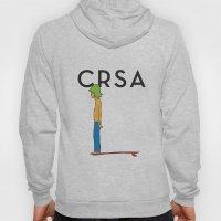 CRSA simple surfer poster Hoody