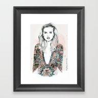 Perrie Framed Art Print