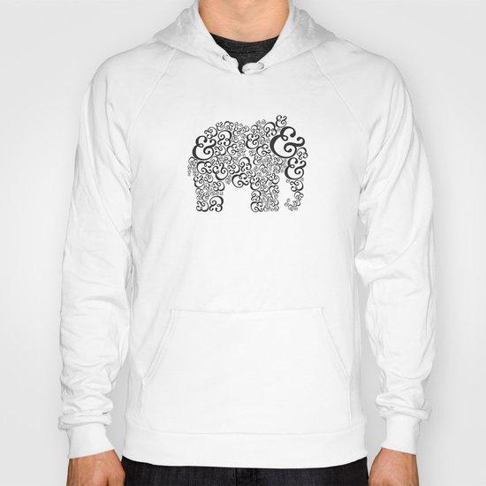 Ampersand Elephant Hoody