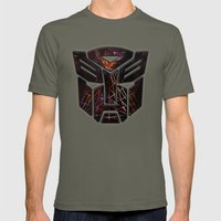 Autobots Abstractness - Transformers Mens Fitted Tee Lieutenant SMALL