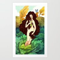 Beautiful Inside and Out Art Print