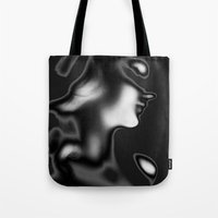 Ghostly Beauty Tote Bag