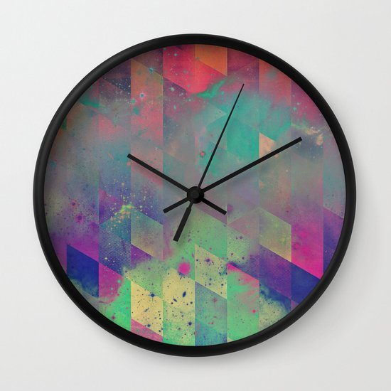 byby vy Wall Clock