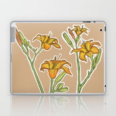 Orange lilies Laptop & iPad Skin