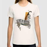friendship Womens Fitted Tee Natural SMALL