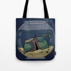 The Snail Conquers The Fett Tote Bag
