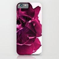 Deep Pink Rose iPhone 6 Slim Case