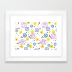 Summer Buzz Framed Art Print
