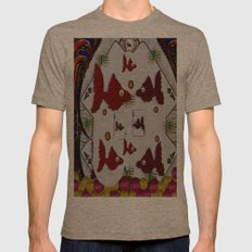 Poker Art In fantasy Style Mens Fitted Tee Tri-Coffee SMALL