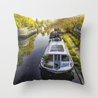 Little Venice London Throw Pillow