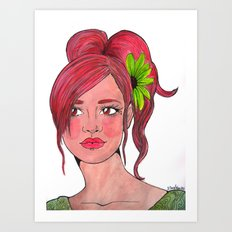 Guava Java Art Print