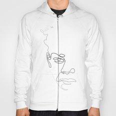 Half-a-Basquiat: One line Hoody