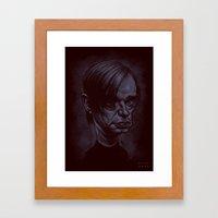 Blixa Bargeld Framed Art Print