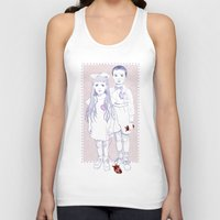 Heart Replacement Unisex Tank Top