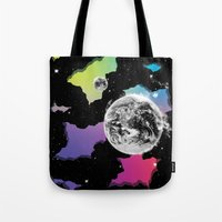 The Neon Spectrum And Co… Tote Bag