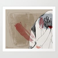 Bear Claw Art Print