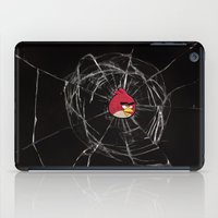 Angry Birds Breaking Glass iPad Case