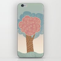 Tree Swirl iPhone & iPod Skin