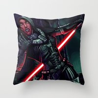 SWTOR - Attack! Throw Pillow