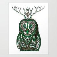 Binah Art Print