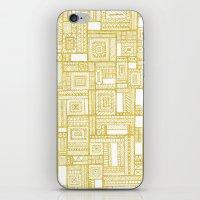 Golden Doodle Patchwork iPhone & iPod Skin
