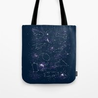 Star Ships Tote Bag