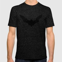 Bats Mens Fitted Tee Tri-Black SMALL