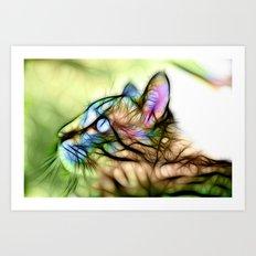 Astral Prowler Art Print