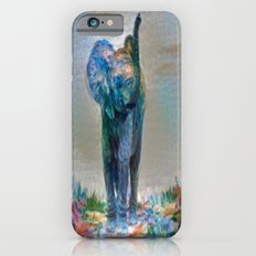 Elephant in my garden 2 iPhone 6 Slim Case