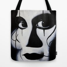 THE CROW CLOSE-UP Tote Bag