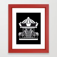 Merry Go 'Round, Part II Framed Art Print