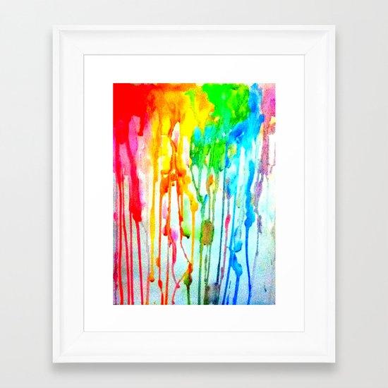 Colors of life : Colors Series 3 Framed Art Print